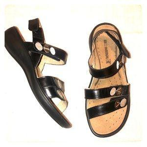 Romika Adjustable Strap Wedge Comfort Sandals 37